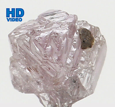 Natural Loose Diamond Pink Color Rough I3 Clarity 4.30 MM 0.36 Ct L6593