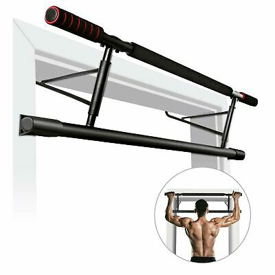 Pull Up Bar Door Mounted Chin Ups Fitness Exercise Workout Strength for Home Gym