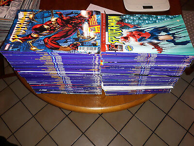 spider-man  v2   super lot de 125 comics du 7 au 149   lug/semic/panini/marvel
