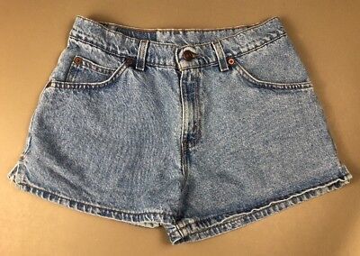 Vintage USA Levi's 912 Slim Fit Denim Jean Shorts Women's Size 9 High Waist  132