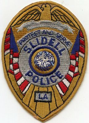 SLIDELL LOUISIANA Protect And Serve POLICE PATCH