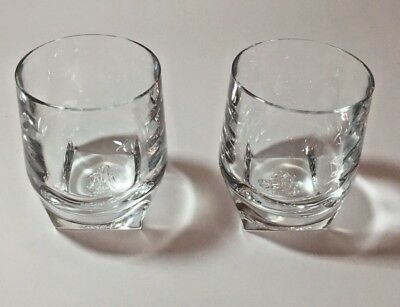 Johnnie Walker Blue Label Blended Scotch Whiskey Limited  Rock Glasses -Set of 2