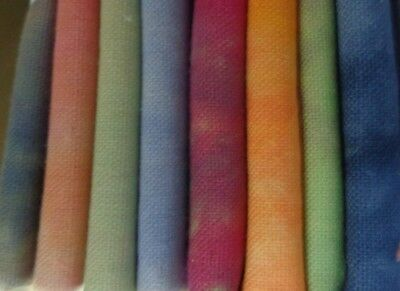 "Hand dyed Egyptian Cotton and Linen Mix  Bundle 8 x 30"" x 20"""