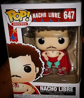 Funko Pop! Movies: Nacho Libre #647 (Non Chase) in hand ready to ship.