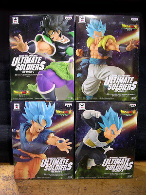 Dragon Ball Super Ultimate Soldiers Movie Figure God Gokou Vegeta Gogeta Broly