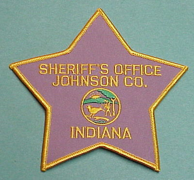 Johnson County  Indiana  In   Sheriff / Police Patch   Free Shipping!