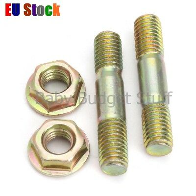 34Pcs Bar Nuts Studs Bolt for Baumr-Ag SX62 62cc Chainsaw Chain Saw