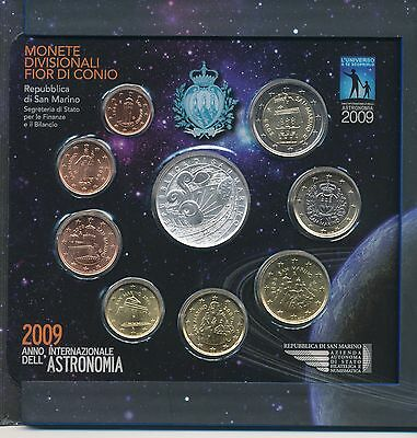 2009 Republic San Marino Coins Divisional applications FDC Year International