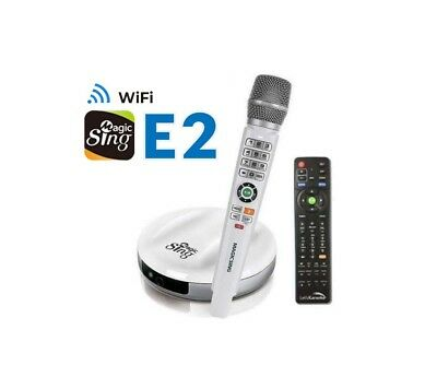 Magic Sing E2 WiFi Karaoke Mic 12K ENG + 2MON 220K Tagalog & International songs