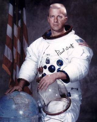 Paul Weitz NASA Skylab STS-6 signed White Space Suit portrait WSS
