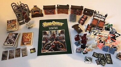 Mb Heroquest Games Workshop 89 Lot Elements Mobilier Parts Le Retour Du Sorcier