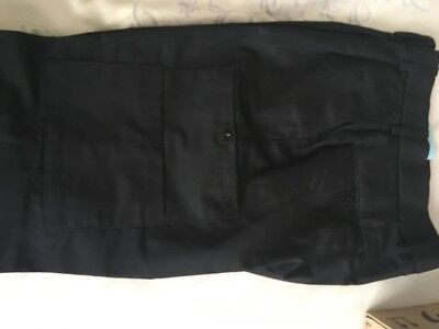 Ladies Black Cargo/Combat/Work Trousers with pockets size 16 BNWT Turner Virr