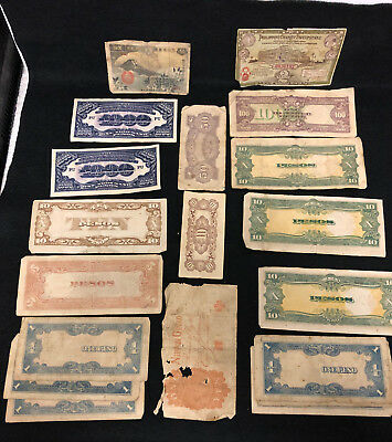 Philippines ~ Japanese Occupation Currency ~ Lot!