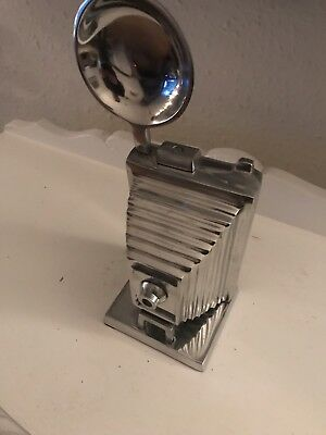 Chrome Art Deco Polished Sculpture Camera Prop Display