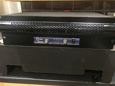 C AUDIO GB402  Power Amplifier Amp Dj Disco Sound Pa Audio