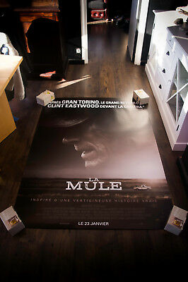 THE MULE CLINT Eastwood 4x6 French Grande Rolled Movie Poster Original 2018