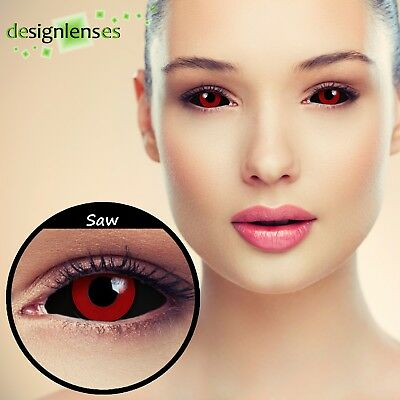 Thokyo Ghoul full SCLERA crazy colored  22mm costume contacts lenses cosplay