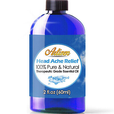 Artizen Head Ache Relief Essential Oil (100% PURE & NATURAL - UNDILUTED) - 2oz