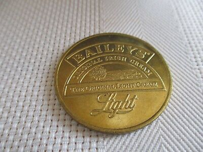 "Bailey's Irish Cream Token ""The Original Light Cream"""
