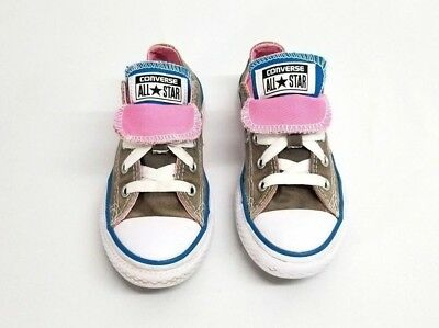 70b373dc8572 Converse Chuck Taylor All Star Double Tongue Sneakers Junior Girl s Size 12