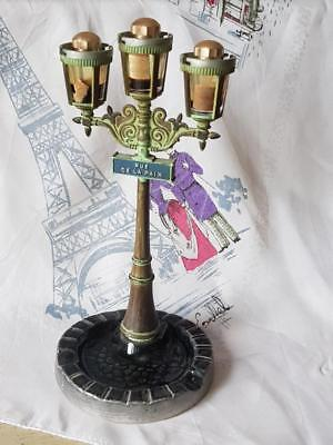Rare Antique French Art-Deco CORDAY Paris Lamp Post Perfume Bottle Holder c.1930