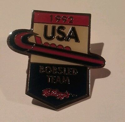 PIN'S bobsled team USA 1992