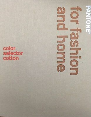 Pantone book for Fashion and Home, Color selector Cotton