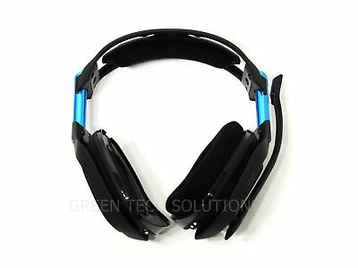 Astro A50 Wireless Gaming Headset Dolby Black/Blue PS4 PC AS IS Bad Mic
