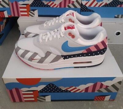 sports shoes 6f515 ba265 NIKE AIR MAX 1 parra 2018 amsterdam atmos TierZero receipt ticket US10  limited