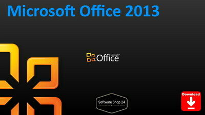Microsoft Office 2013 Home and Student, Business, Professional Plus Download ESD
