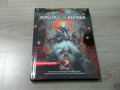 D&D 5th Edition Dungeons & Dragons Waterdeep Dungeon of the Mad Mage HC WotC New