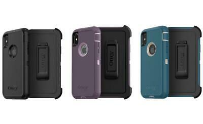 New OEM OtterBox Defender Case for iPhone X iPhone 10 iPhone Xs -With Holster @