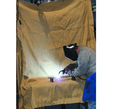 6 ft. x 8 ft. Fiberglass Welding Blanket Protect Flame Retardant Shop Garage