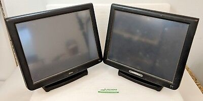 Lot of 2 Partner Tech Touch SP-800 POS System 1.8GHz 4GB DDR3 RAM No HDD/OS