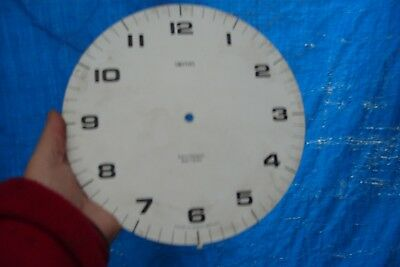 "Clock Parts 9 1/4"" Smiths  Dial  Metal"