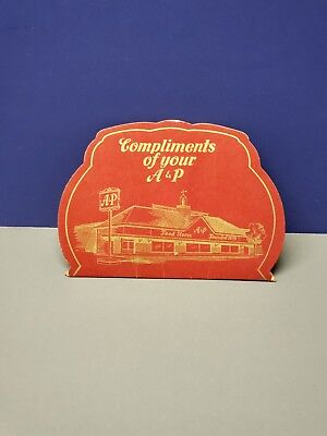Vintage A&P Grocery Store Advertising Needle Book 1950's Good Condition