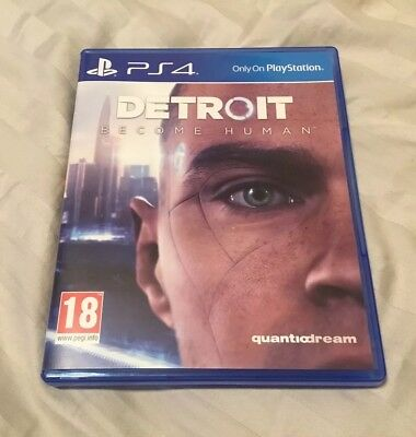 Detroit Become Human PS4 / Playstation 4 Game