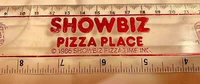 Showbiz Pizza Ruler - 1986