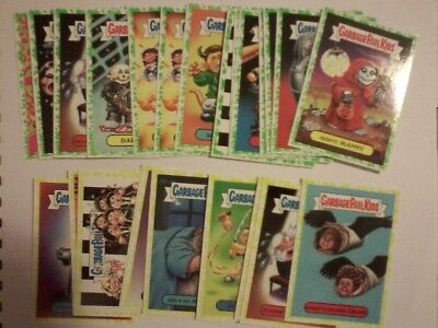 28 Green Yellow parallel GPK Battle of the Bands card 2017 Garbage Pail Kids lot
