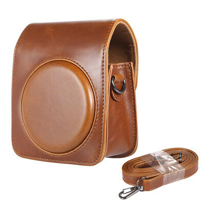 Andoer Leather Shoulder Camera Case Bag Cover for Fujifilm Instax Mini 70 H0Q5