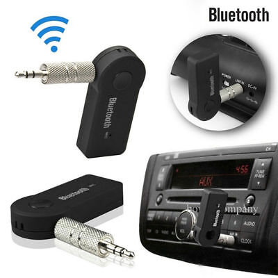 AUX Audio Wireless Bluetooth 3.5mm Stereo Music Car Receiver Adapter with Mic X6