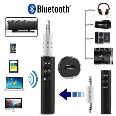 Car-Home AUX Audio Receiver-Adapter Wireless Bluetooth 3.5mm Stereo Music