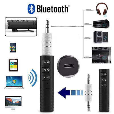 Wireless Bluetooth AUX 3.5mm Jack Stereo Music Home Car Audio Receiver-Adapter