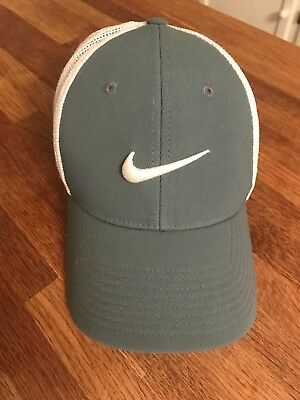 free shipping 87a72 502bb ... sweden nike golf flex fit cap hat perforated nwt new s m sea green  white 8a50e d826f