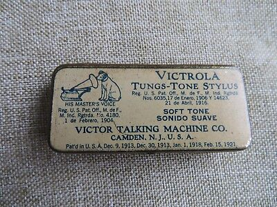Victrola Tungs-Tone Stylus Tin - His Master's Voice - Nipper