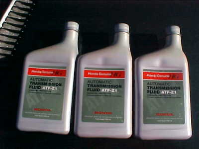 Honda Atf Z1 Genuine 3 Quarts Transmission Fluid New Old Stock