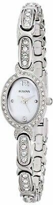 Bulova Women's Swarovski Crystals Stainless Steel Watch