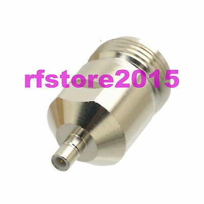 1pce Adapter Connector N female jack to SMB male plug straight for router
