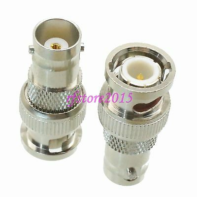 1pce Adapter Connector BNC male plug to BNC female for CCTV Cameras
