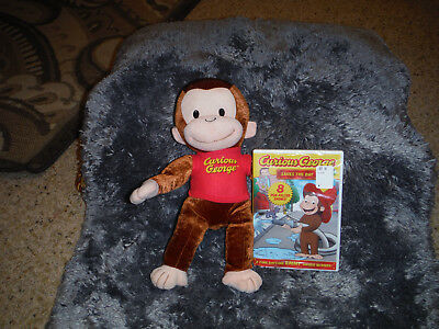 Curious George Plush With A Cd